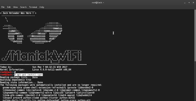 Install Best Downloader di Kali Linux with uGet