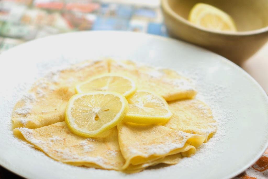 Lemon Crepes | inhappenstance.com