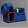 High Temperature Centrifugal Fans for Cement Plant are constant displacement devices or constant volume devices