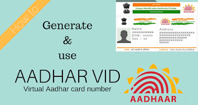 How To Generate and Use Aadhaar Virtual ID Step By Step Guide