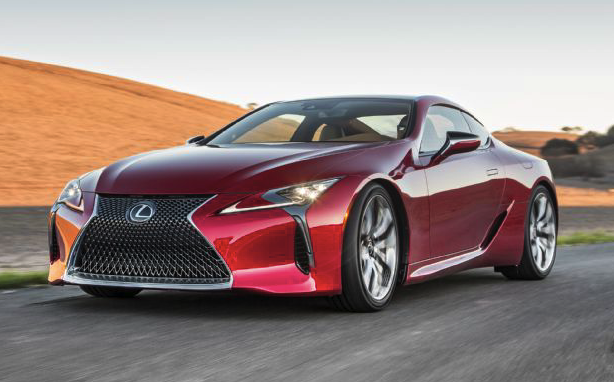 2018 Lexus LC500 / LC500h Review