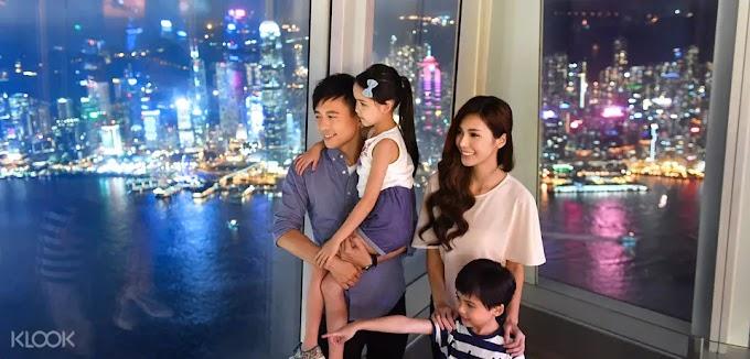 香港天際100: 觀景台門票 + 美食套餐優惠