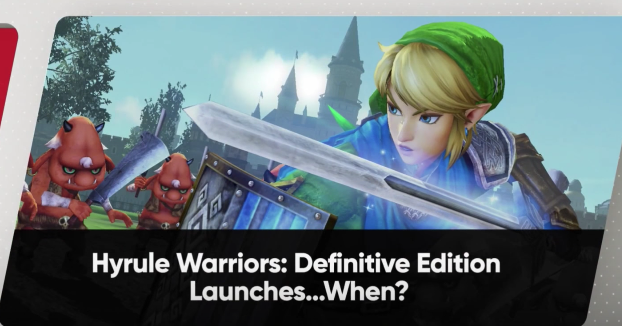 Hyrule Warriors llegará a Nintendo Switch el 18 de mayo