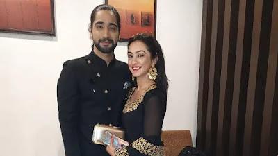 TV actress Abigail Pande and boyfriend Sanam Johar