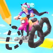 Scribble Rider Mod Apk v1.4 (Pro, Unlimited Coins) Free For Android