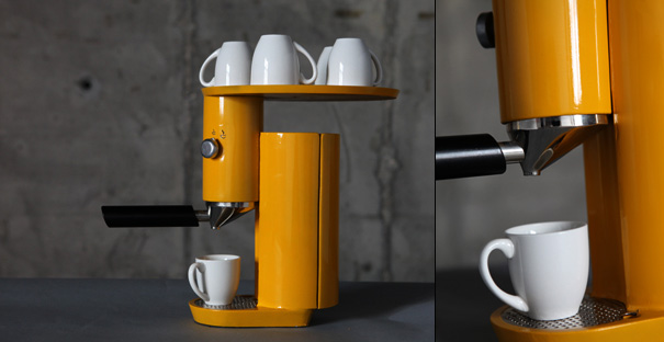 Small Modern Kitchen 15 Creative Coffee Makers And Modern Coffee Machine Designs.