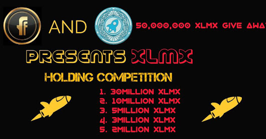 Holding Competition! Pool 50,000,000 XLMX