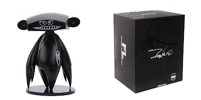Johnny Black Edition Vinyl Figure by Futura x MINDstyle