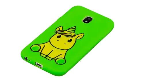 جراب هاتف أخضر