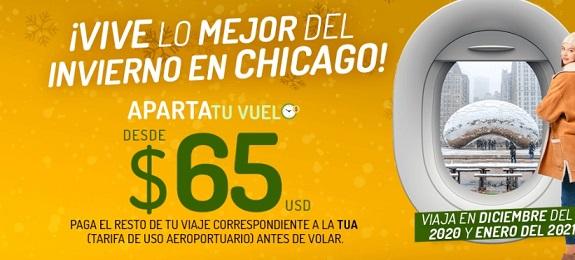 Vivaerobus vuelos a Chicago con promocion