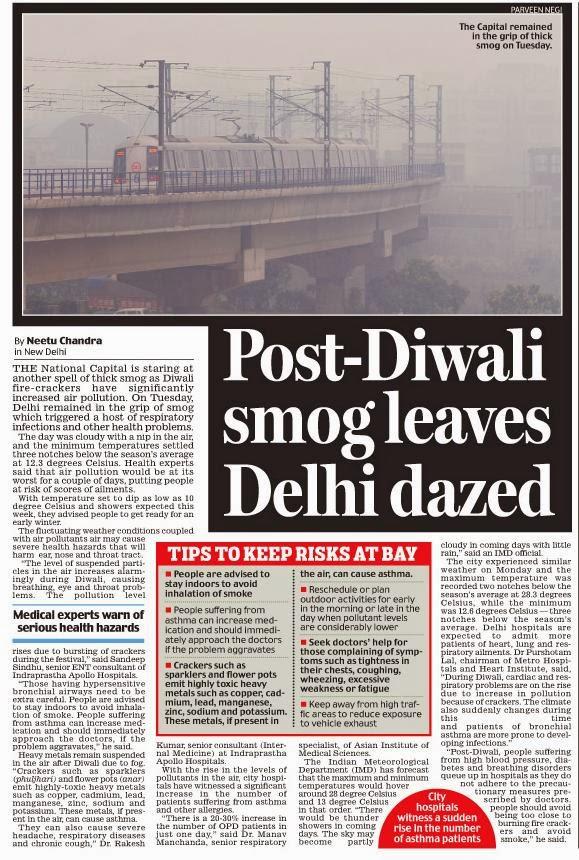 Diwali pollution essay