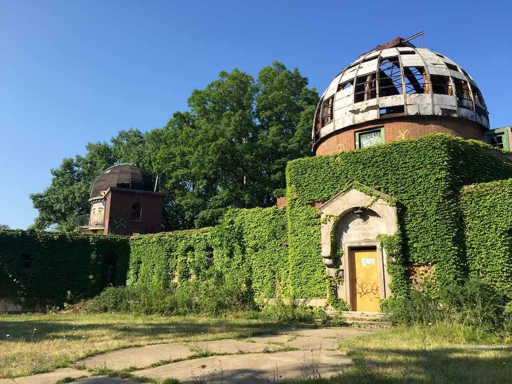 deserted places the abandoned warner and swasey observatory of
