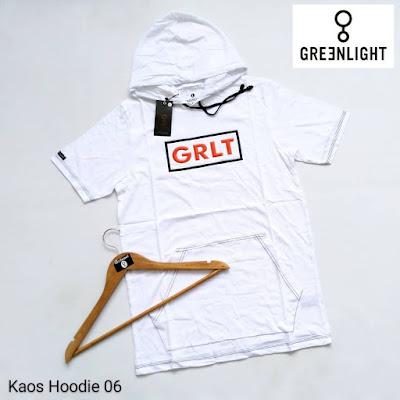 KAOS HOODIE GREENLIGHT KH06