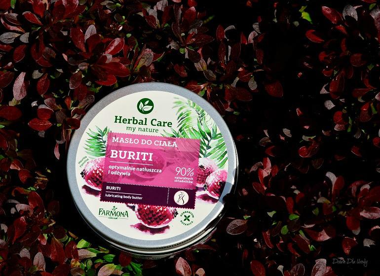 Herbal Care Masło do ciała Buriti recenzja