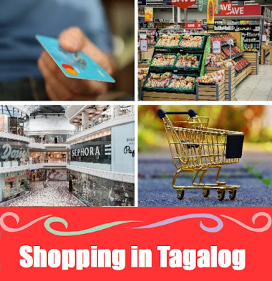 Shopping Word List in Tagalog