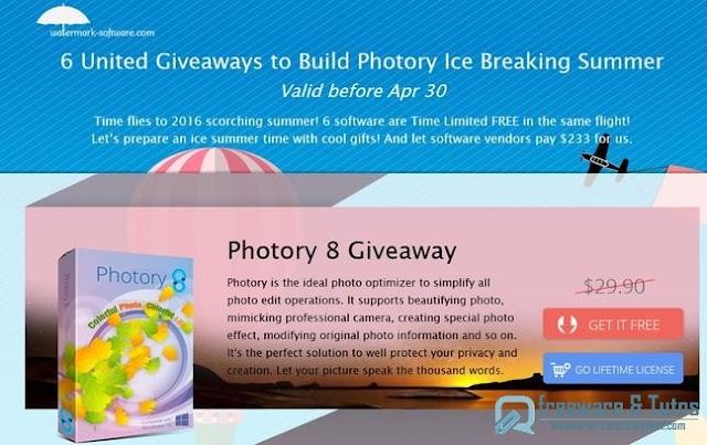 Offre promotionnelle : 6 logiciels commerciaux gratuits !
