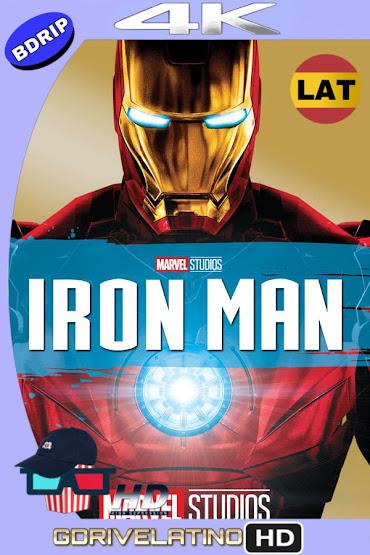 Iron Man (2008) BDRip 4K HDR Latino-Ingles MKV