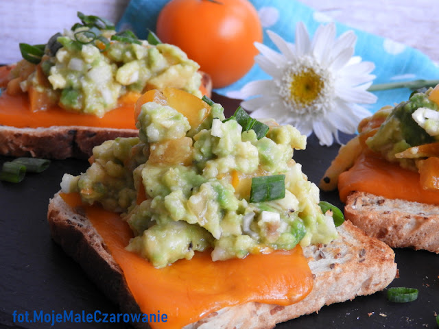 Kanapki z Mimolette i guacamole - CZYTAJ DALEJ