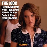 The Look I Give My Students... | Practice Following Directions in the Kitchen | Remedia Publications