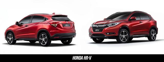 Dimensi Honda New HR-V 2020
