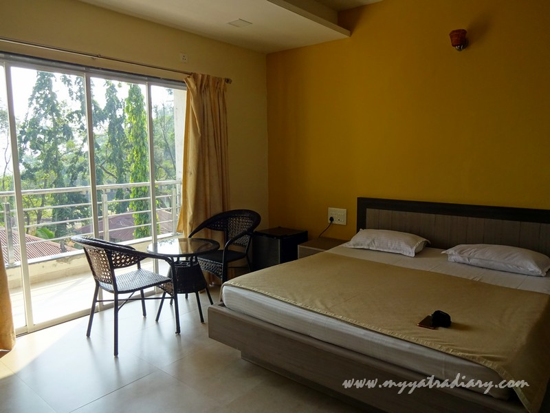 Executive room non ac MTDC Resort Harihareshwar, Maharashtra