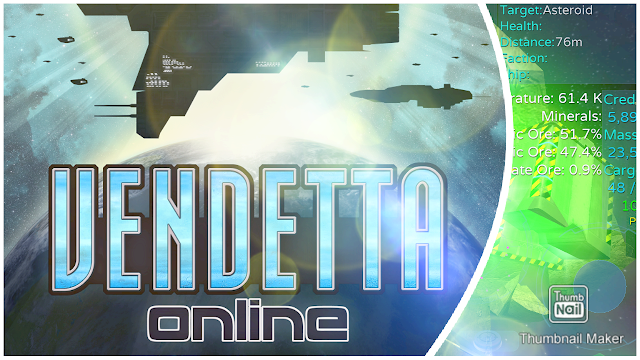 Mining Took 40 Minutes | Vendetta Online Mobile Space MMO Gameplay
