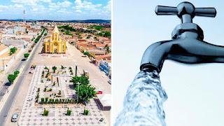 Barra de Santa Rosa: Cagepa libera água nas torneiras