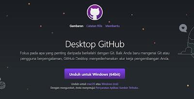 step 1 - cara mengaitkan akun github ke aplikasi github dekstop