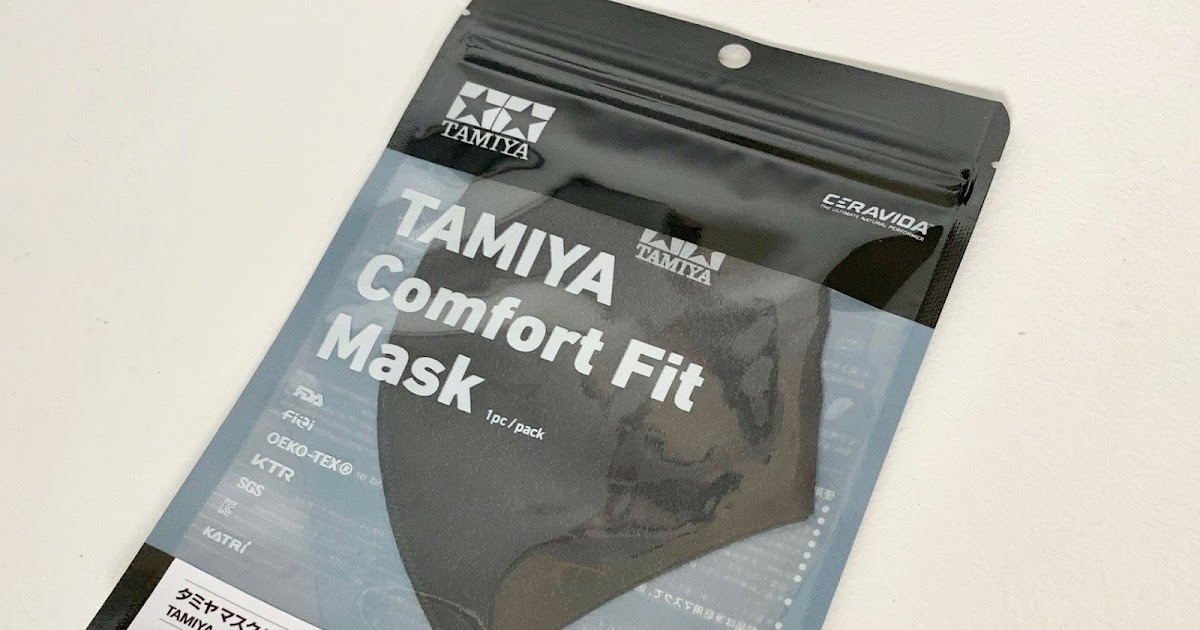 Tamiya comfort fit face mask review and track test ;)