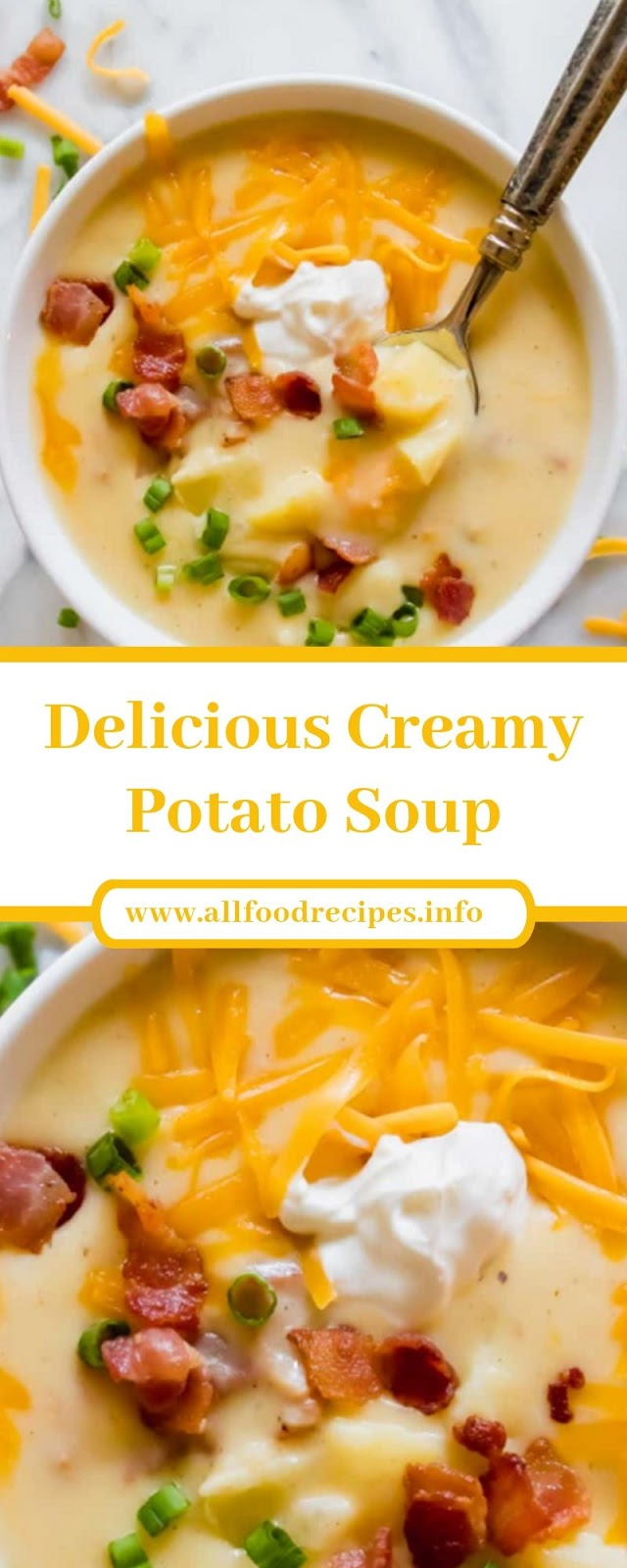 Delicious Creamy Potato Soup