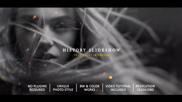 History Slideshow In Photos[Videohive][After Effects][28253008]