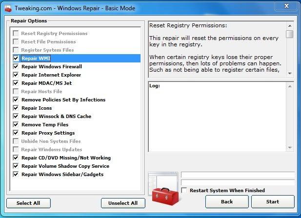 reparera windowssystemfiler 7 gratis