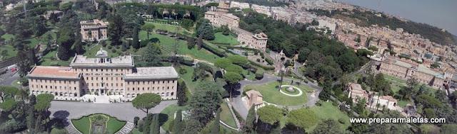 vistas desde el Vaticano