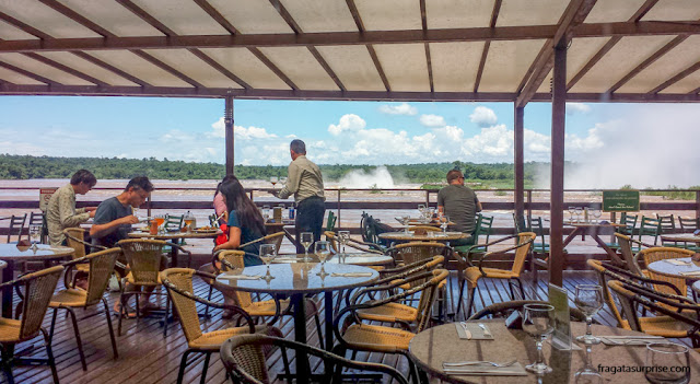 Restaurante Porto das Canoas, Parque Nacional do Iguaçu