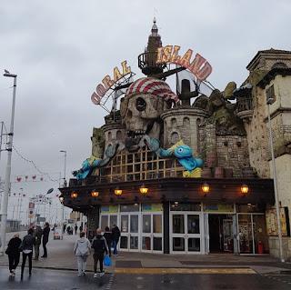 Coral Island amusement arcade in Blackpool