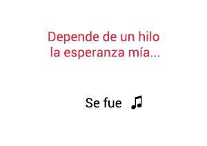 Laura Pausini Se Fue significado de la canción.