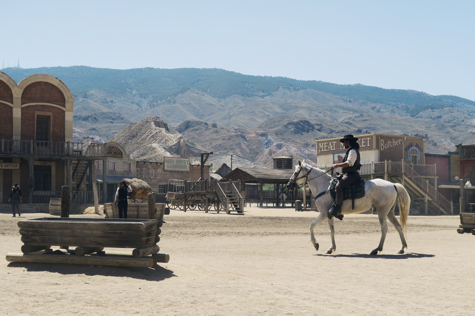 The wild west show at Mini Hollywood near Almeria