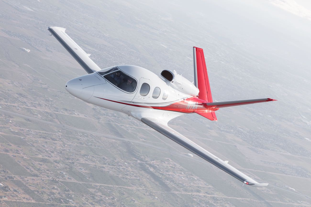 Passion For Luxury Cirrus Vision Jet The World S