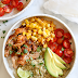 Chipotle Chicken Bowls with Cilantro Lime Quinoa