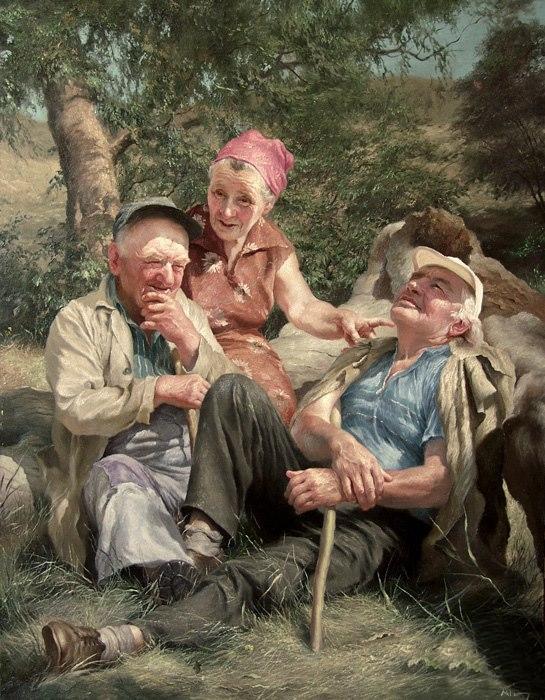 Yuri Klapouh [Юрий Клапоух] ~ Ukrainian Figurative painter