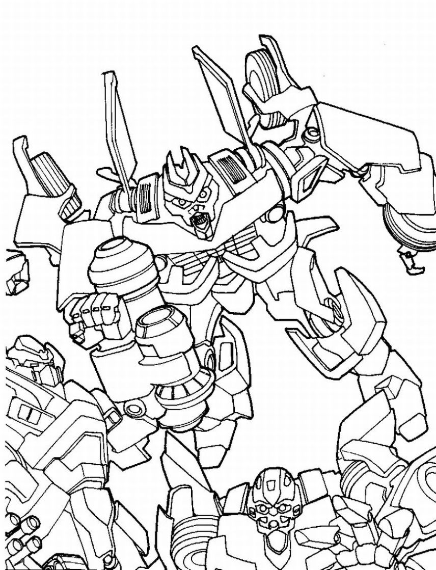 Transformers Coloring Pages Free Coloring Pages Printables For Kids