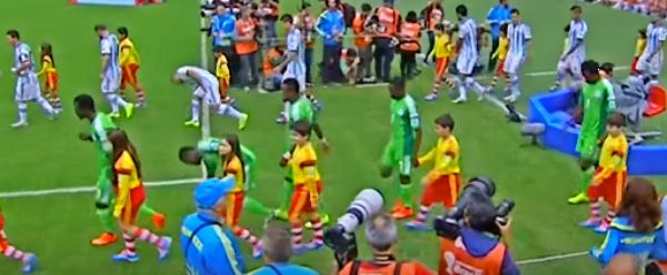 كلاكيت خامس مرة الأرجنتين ونيجيريا بمجموعة واحدة فى كأس العالم