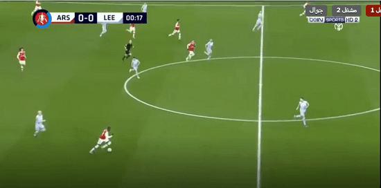 البث المباشر : آرسنال وليدز يونايتد arsenal-fc vs leeds-united-fc kora online