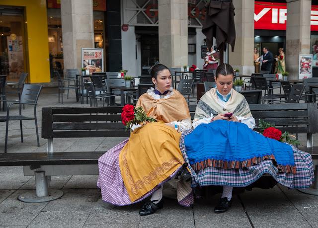 Cosplay masivo en Zaragoza - Dia del Pilar