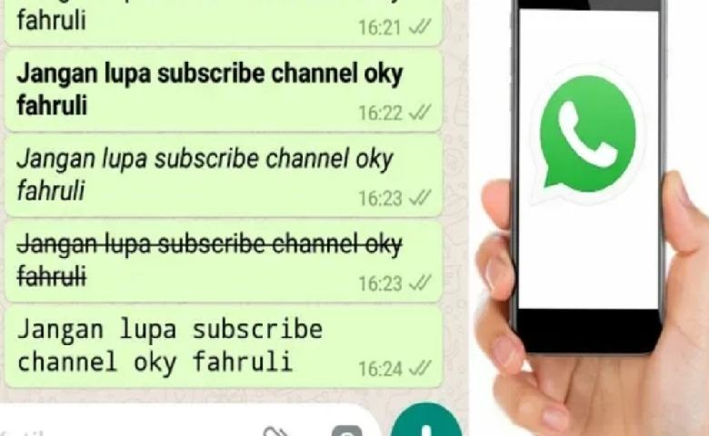 Cara Merubah Font Di Whatsapp Dan Instagram