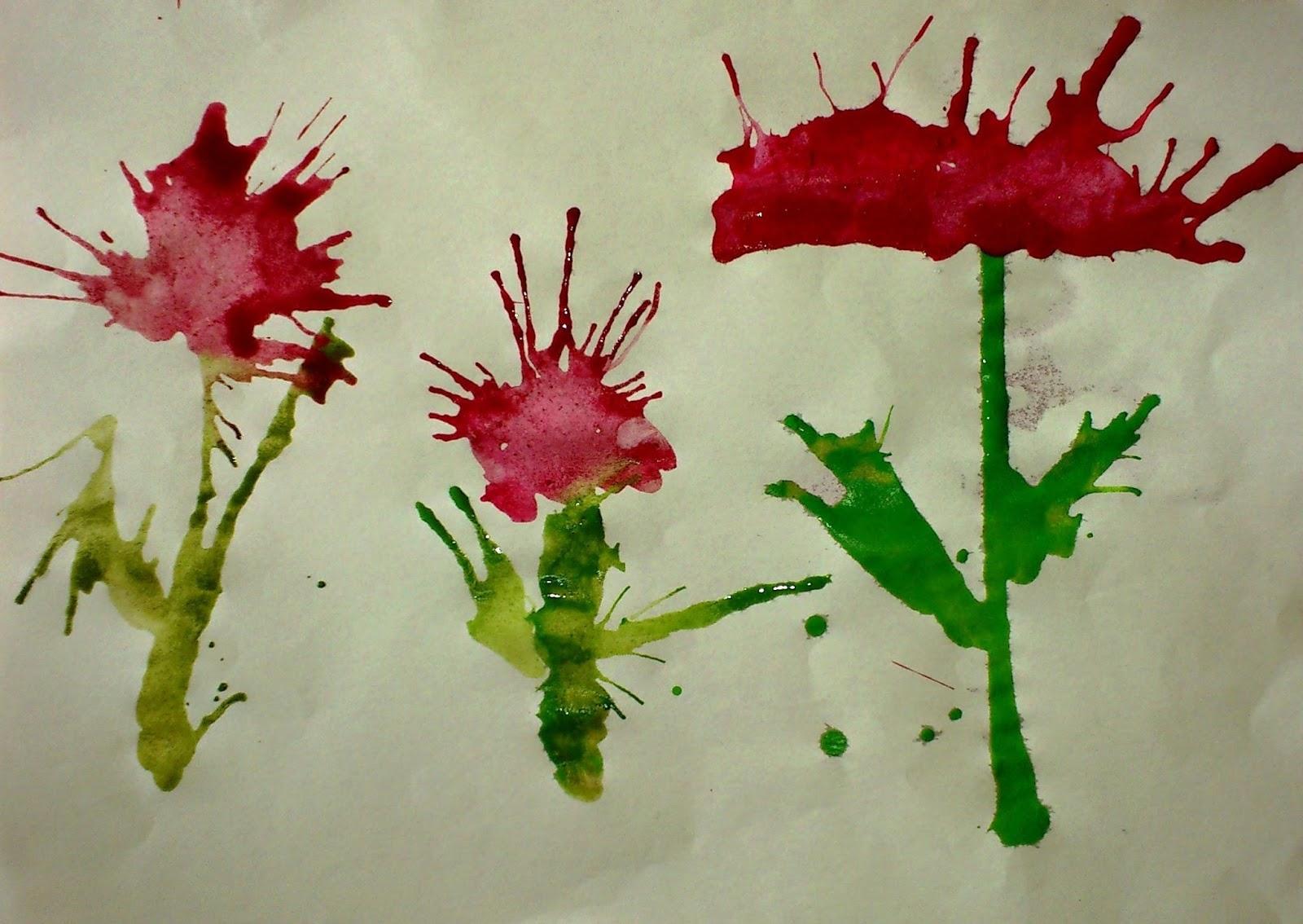 Flori suflate