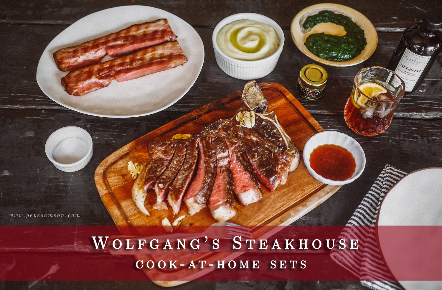 Treat Dad to This Cook-at-Home Set from Wolfgang's Steakhouse on Father's Day