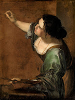 Self-Portrait as the Allegory of Painting (circa 1638-1639) by Artemisia Gentileschi, daughter of Orazio Gentileschi