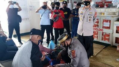 Polisi Perketat Pengawasan di Pelabuhan Bajoe Pasca Bom Makassar