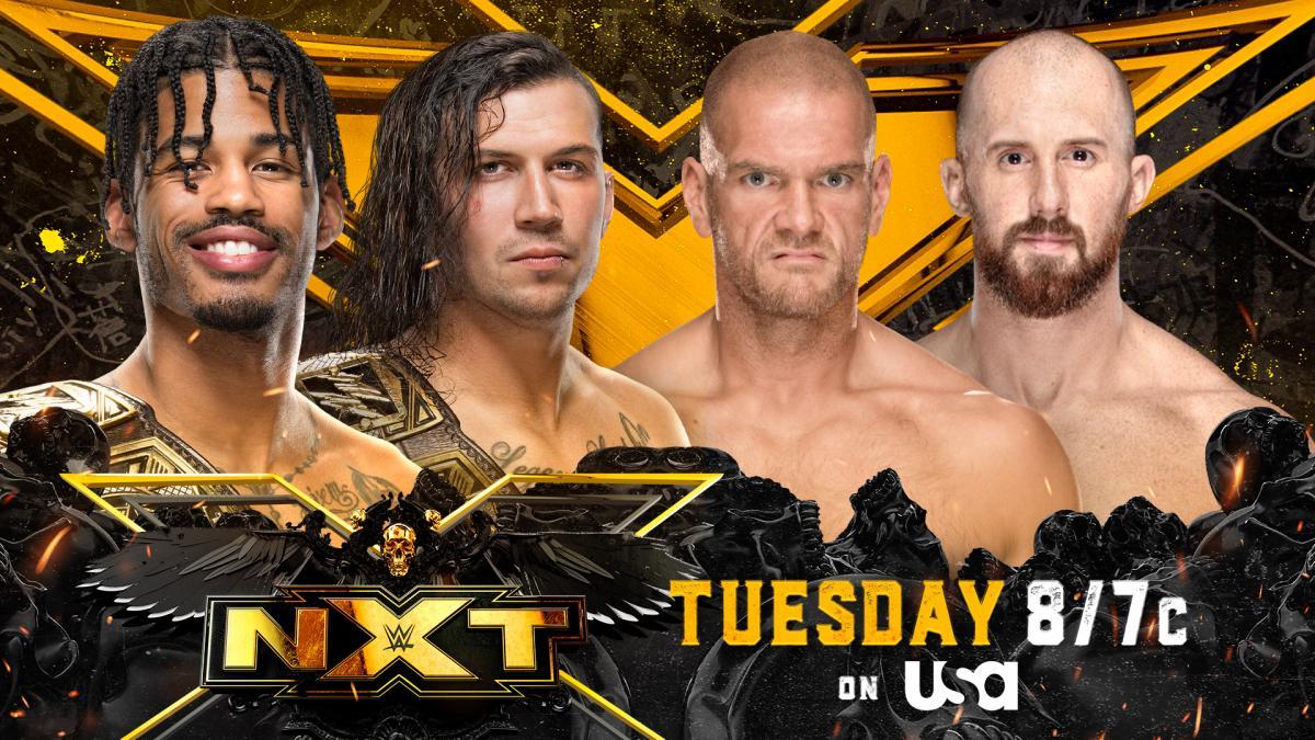 Cobertura: WWE NXT Wrestling (07/09/2021) – Nunca derrotados!